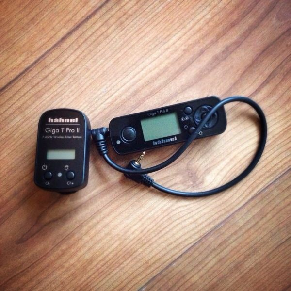 draadloze afstandbediening camera