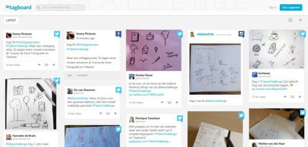 Teken Challenge, Visueel Notuleren, visual notes, tekenen