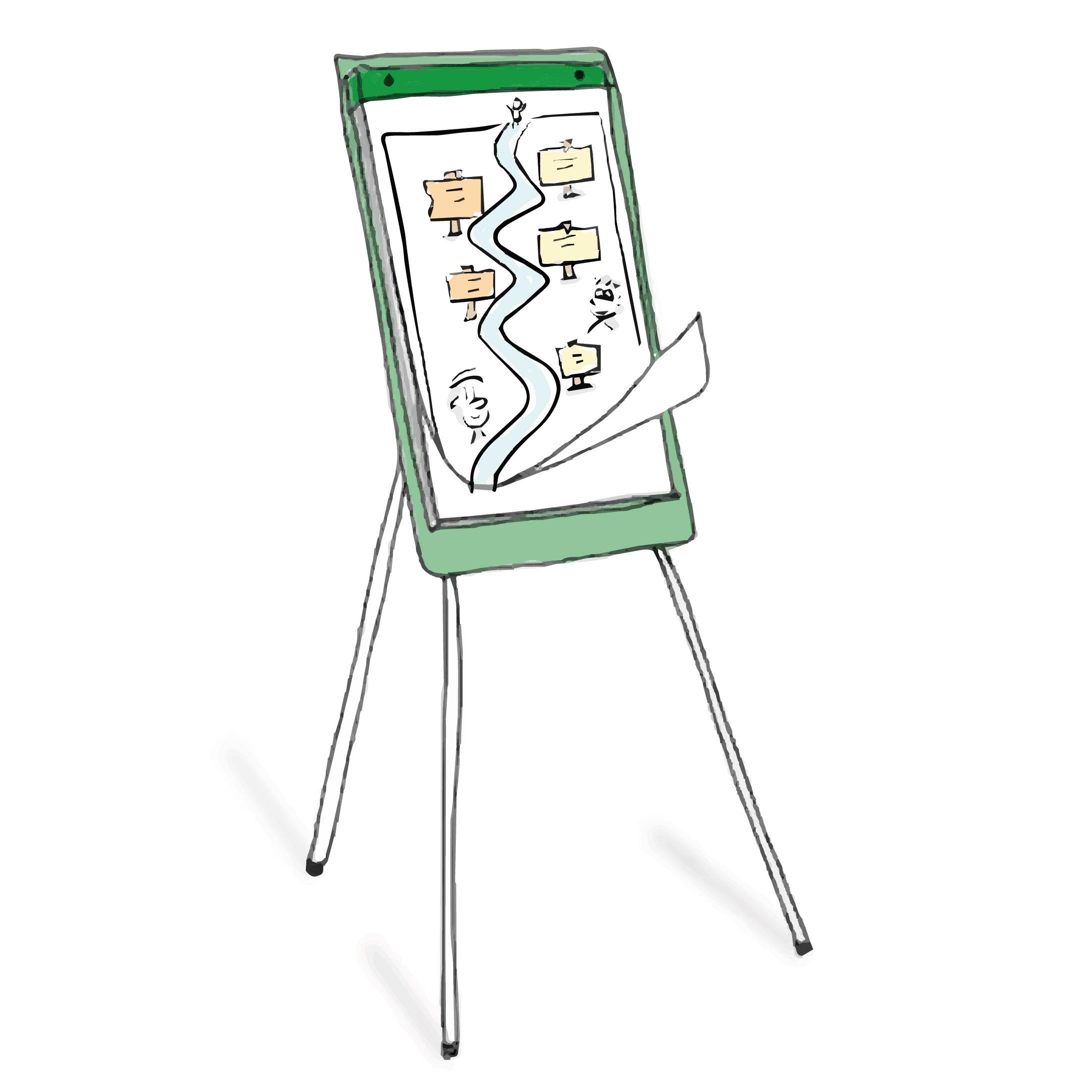 workshop zakelijk tekenen: leer tekenen op flipovers en het maken en gebruiken van visuele templates