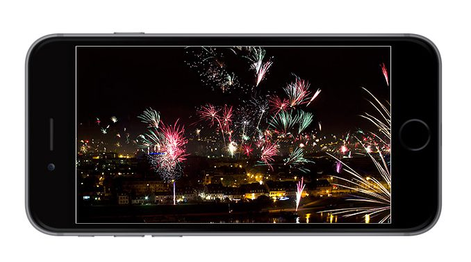 Vuurwerk fotograferen met je smartphone