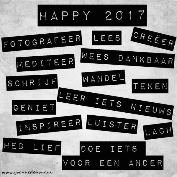 gelukkig nieuwjaar 2017