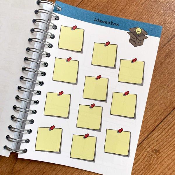 Notitieboek, Illustraties