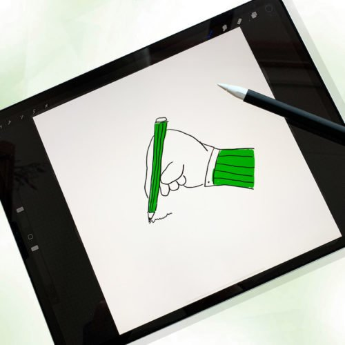workshop digitaal tekenen met de ipad en procreate