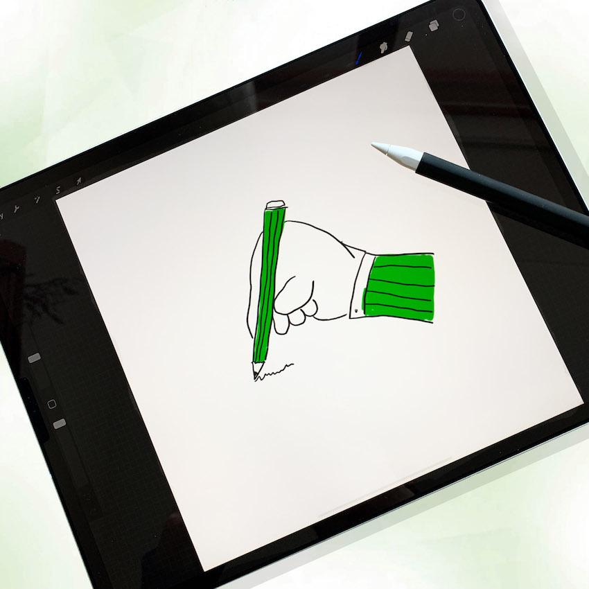 workshop digitaal tekenen met de ipad en procreate