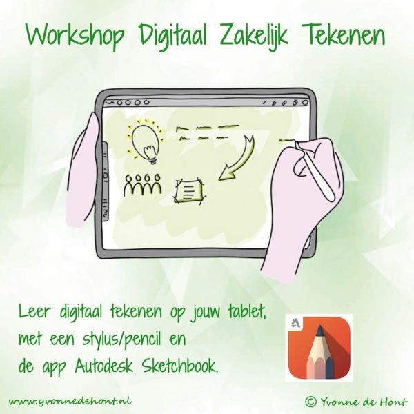 workshop digitaal zakelijk tekenen