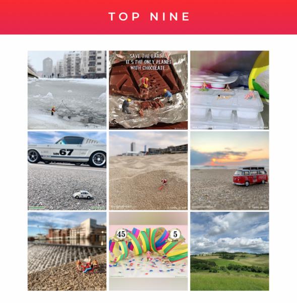top nine instagram Yvonnefotografeert