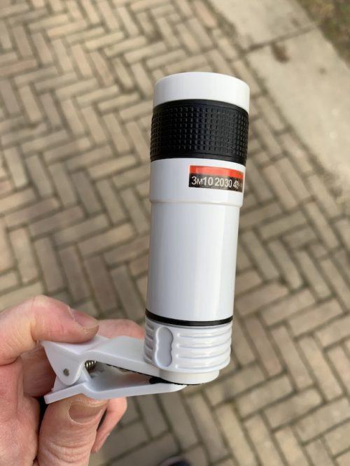 Review zoom lens voor de smartphone