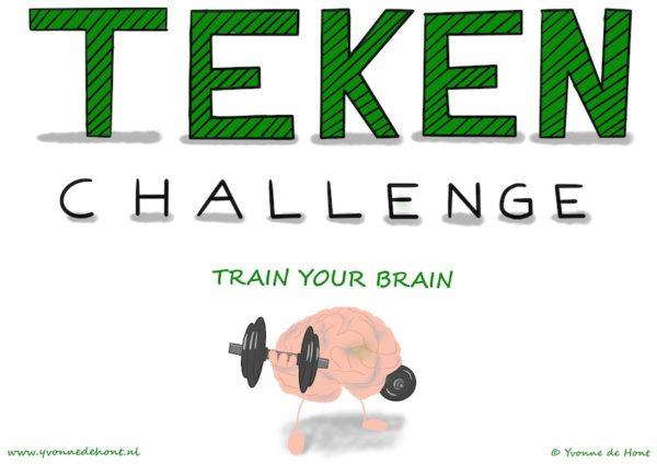 10 dagen Teken Challenge - Train Your Brain
