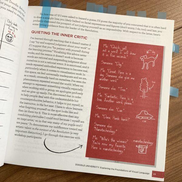 Blogserie De Boekenkast - The Doodle Revolution Sunni Brown