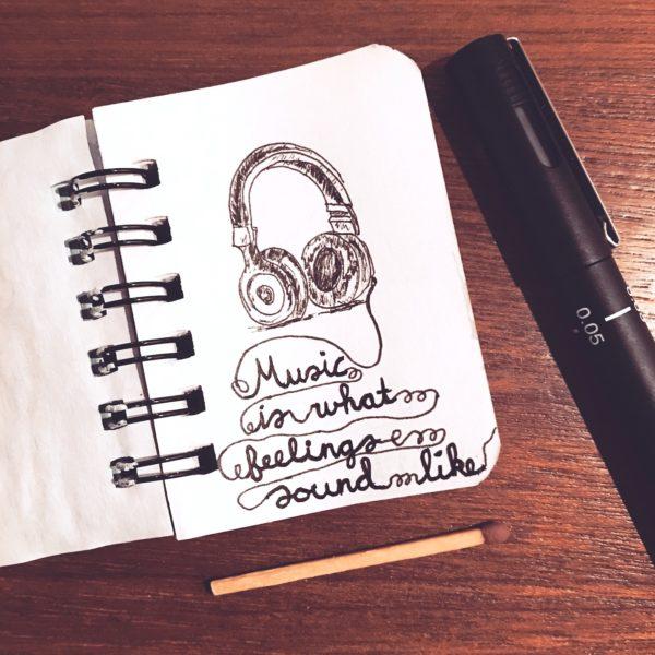 Miniatuur tekening