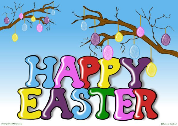 Happy Easter / Vrolijk Pasen
