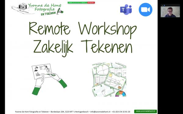 Remote workshops / workshops op afstand