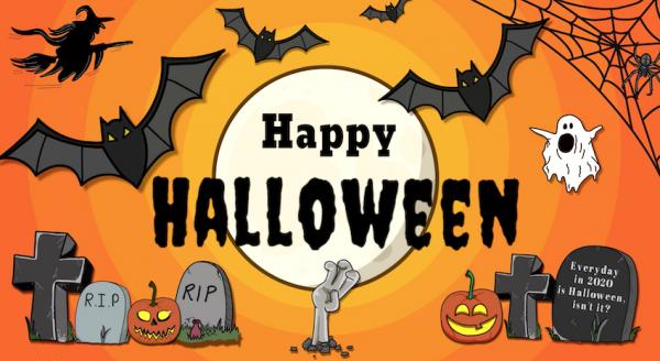 Happy Halloween 2020 - getekende animiatie