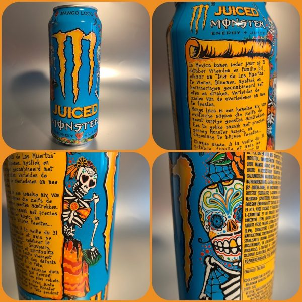 Mango Loco Juiced Monster energy juice