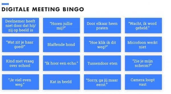 Bingo Teams meeting