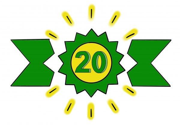 Top 20 van 2020