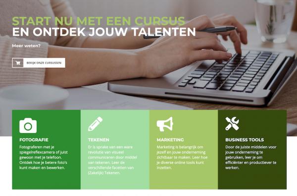 e-learning website Yvonne de Hont College