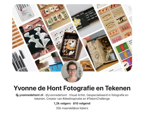 Pinterest Yvonne de Hont Fotografie en Tekenen