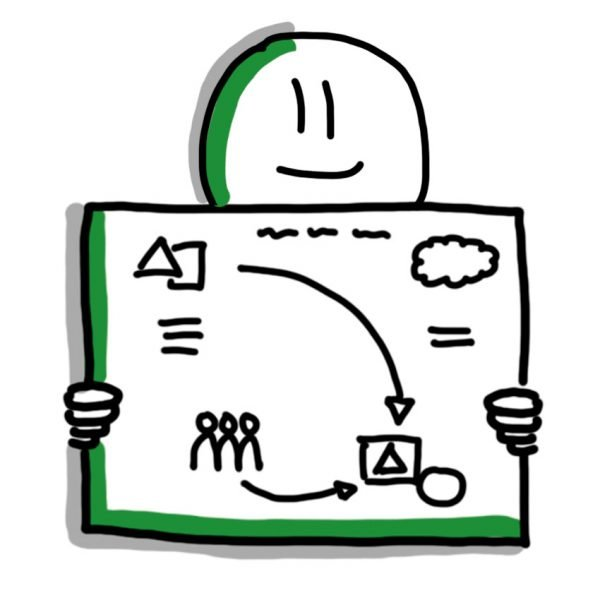 praatplaat tekenen - workshop Zakelijk Tekenen