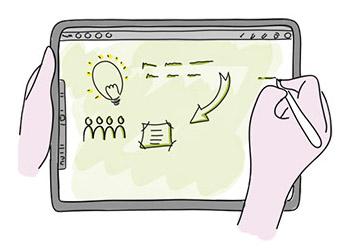 Live online workshop Zakelijk Tekenen op een Tablet