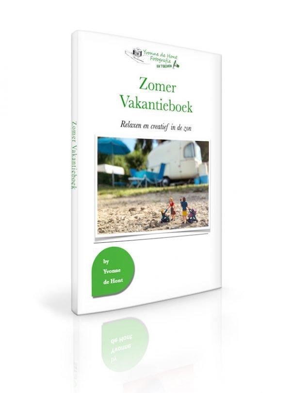 e-book Zomer Vakantieboek 2021 - relax en creatief in de zon