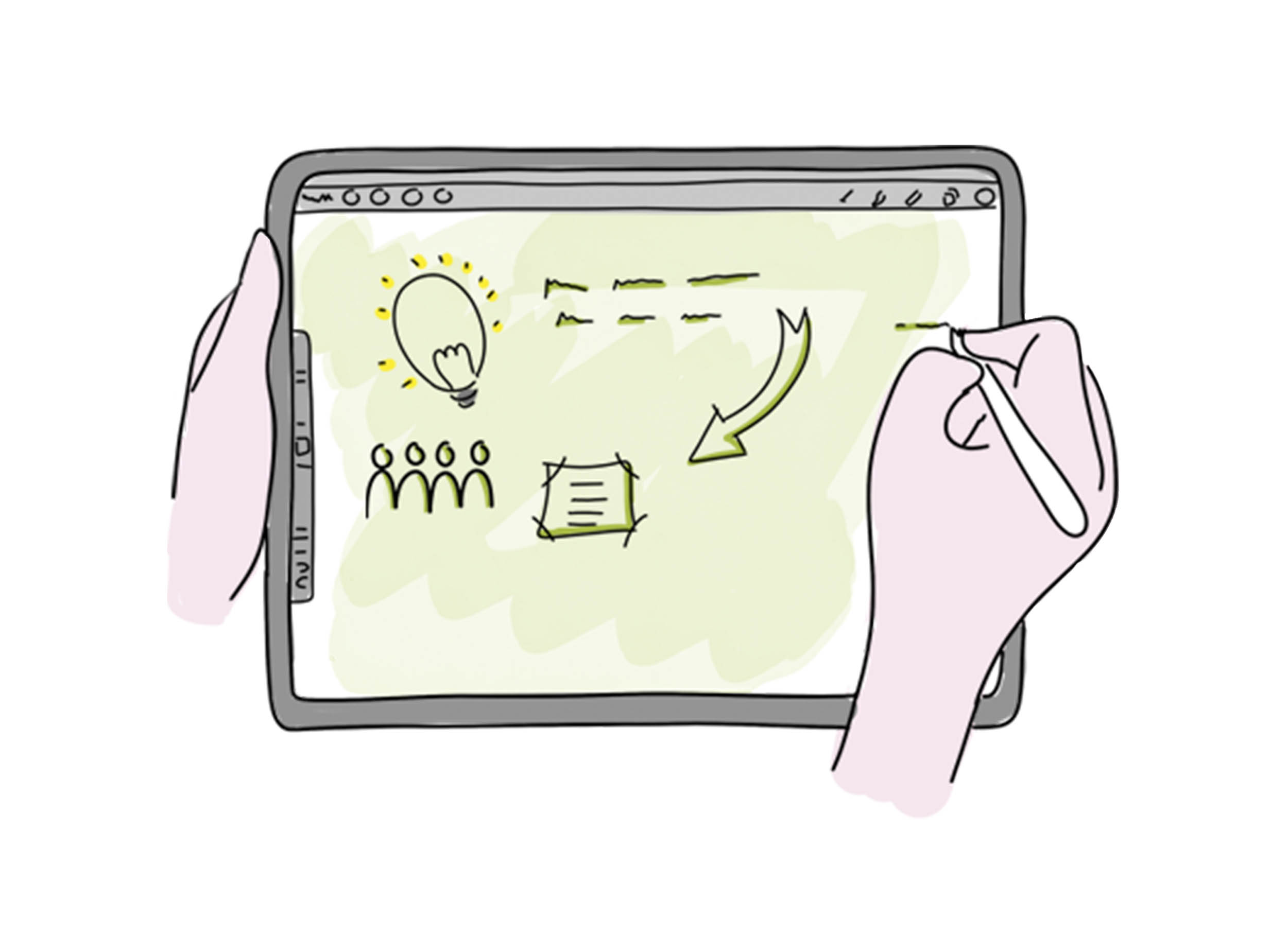 Tools voor digitaal Zakelijk Tekenen